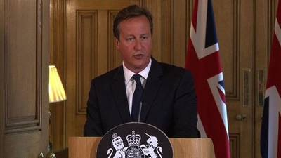 News video: Britain raises terror threat level over Iraq, Syria fears