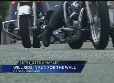 News video: NM War Hero Gets Special Harley Tricycle