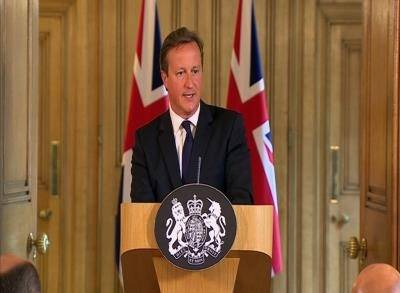 News video: Cameron: UK Raises Terror Threat Level to Severe